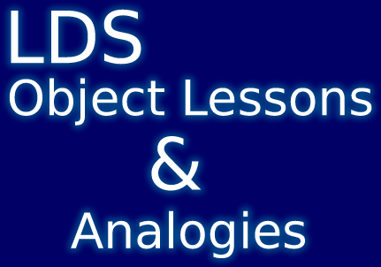object lessons and analogies