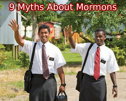 9 myths about mormons