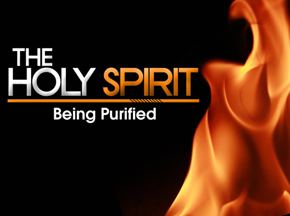 being purified