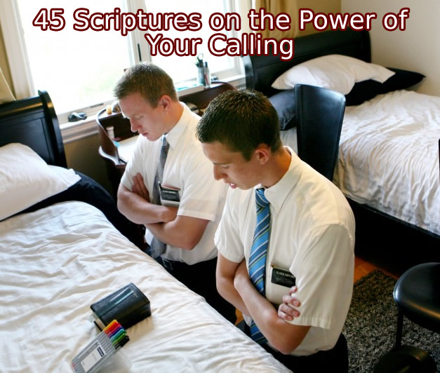 scriptures on the power of your calling