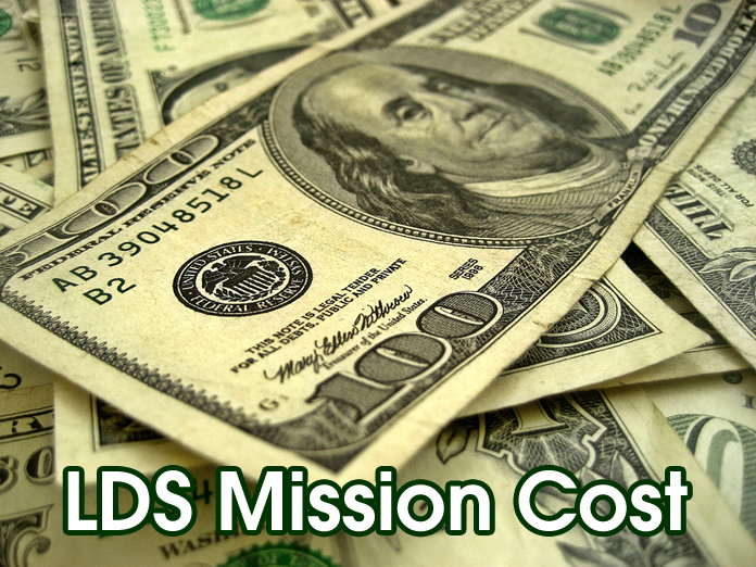 lds mission cost
